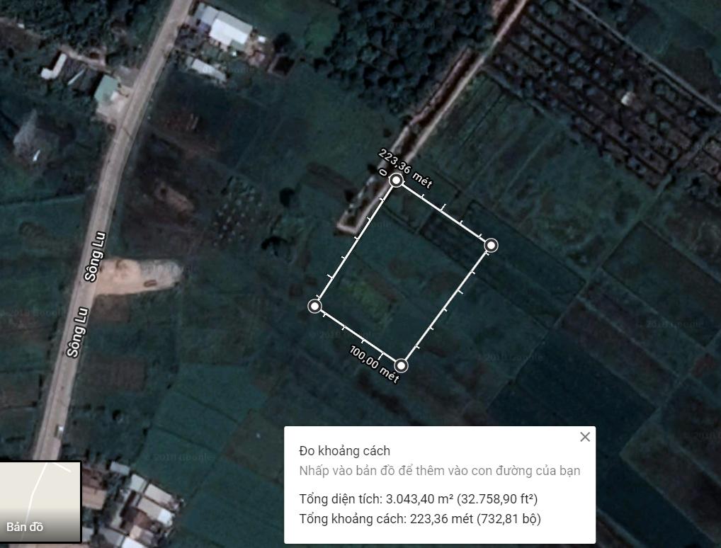3045m2 Đất Cây lâu năm, Xã Trung An