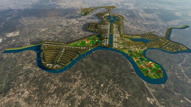 Siêu dự án Thành phố Mới Newcity rộng 15.000 ha ở TP HCM