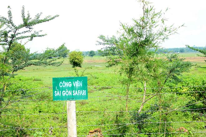 Dự án công viên Sài Gòn Safari Tháng 7 năm 2017 sẽ khởi công