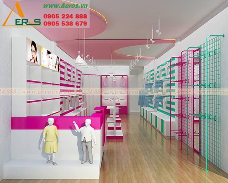 Cách thiết kế shop mẹ và bé vui tươi và thu hút