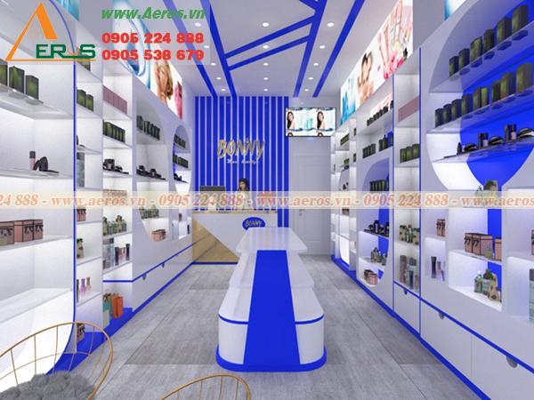 Thiết kế shop mỹ phẩm với nhiều mẫu đẹp