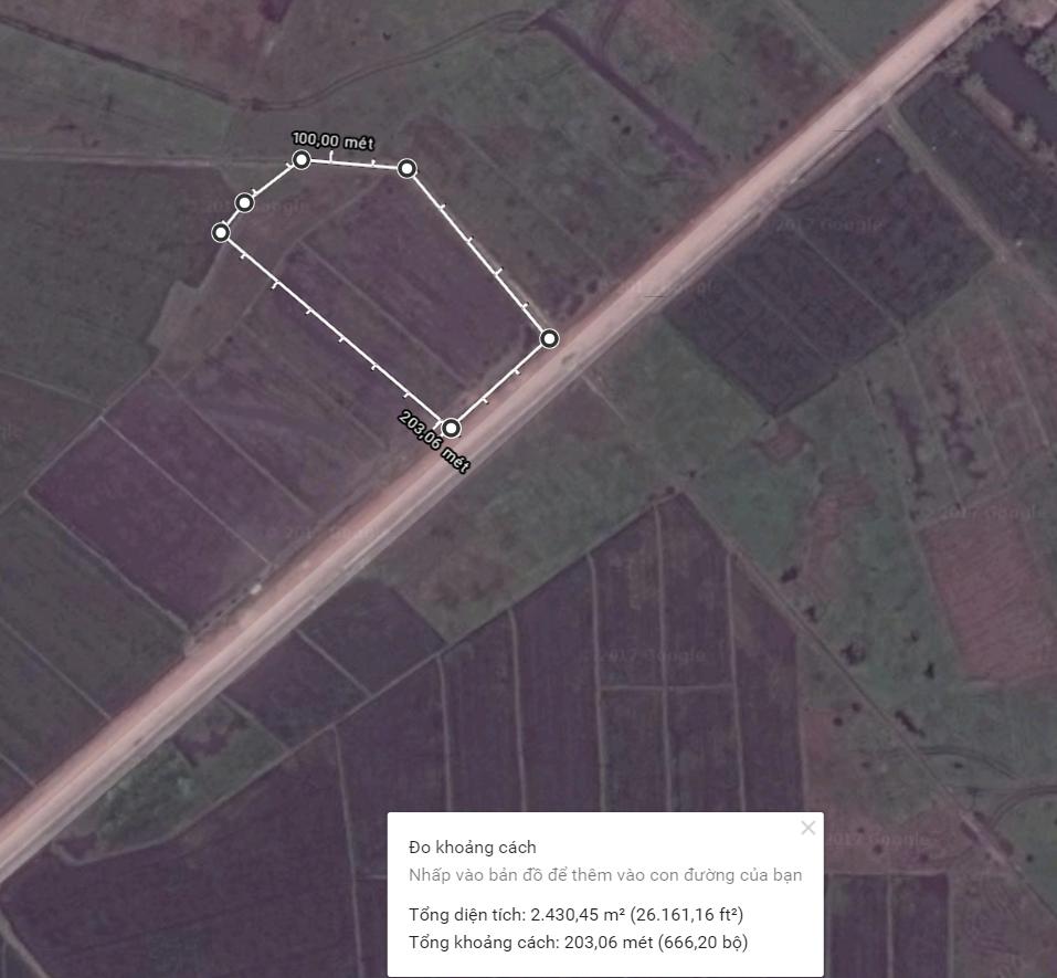 2400m2 Đất Trang Trại Xã Nhuận Đức, Củ Chi