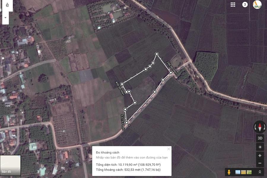 10.000m2 Đất Xã Trung Lập Hạ, Củ Chi