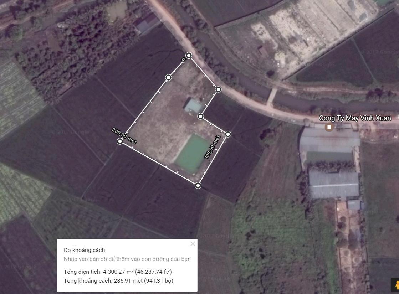 4350m2 Đất Trang Trại Tại Xã Trung Lập Hạ