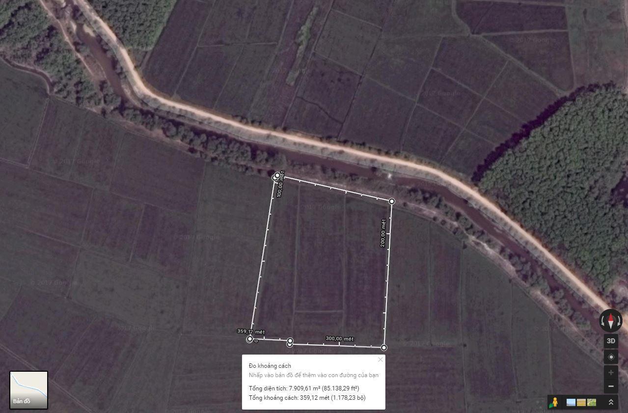 7900m2 Đất Trồng Cây Xã Trung Lập Hạ, Củ Chi